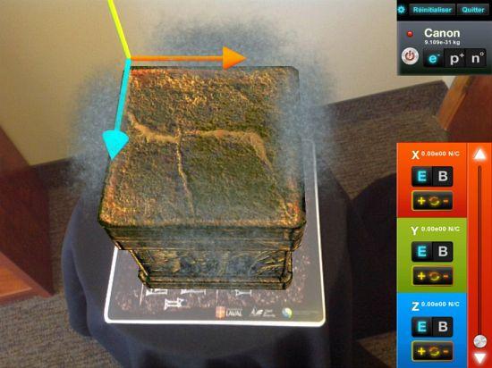 Apparition d'un bloc en réalité virtuelle