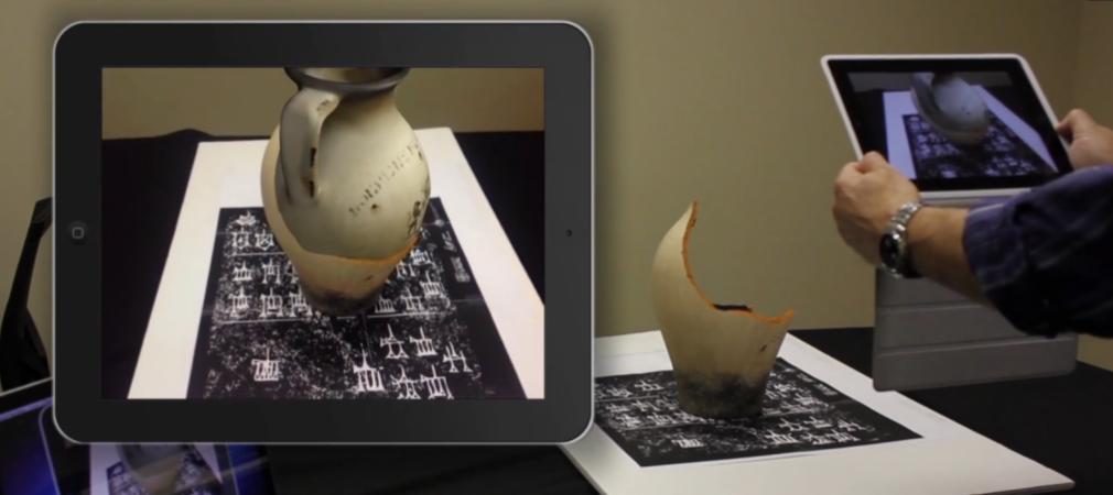 Réalité augmentée sur tablette