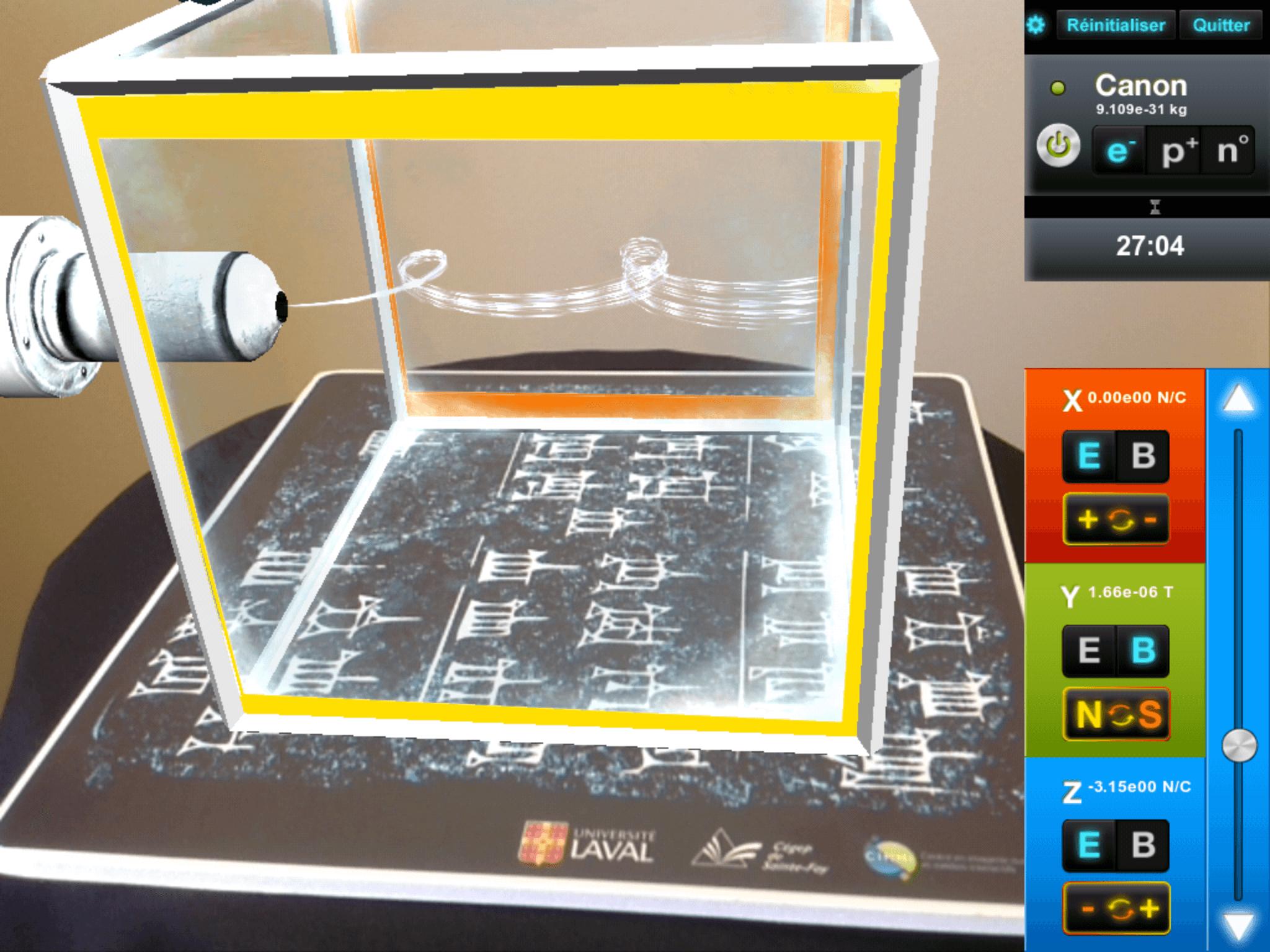 La physique dans un cube