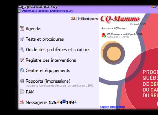CQ_Mammo contrôle de qualité mammographique